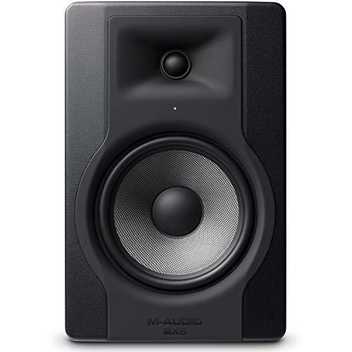 M-Audio - BX8 D3 - Enceinte de Monitoring Studio Professionnel 150 W 2 Voies avec Woofer 8 Pouces pour Production Musicale avec Acoustique Space Control Intégré - Noir