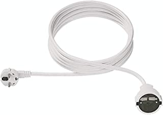 Rallonge 20/m/ètres Rallonge pour appareils /électriques avec capuchon rouge pour utilisation dans les et dans la maison
