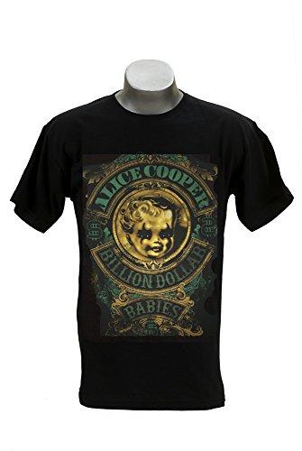 RGM847Alice Cooper Billion Dollar Babies Camiseta tamaño: mediano