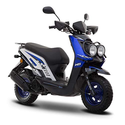 Motocicleta Italika de Motoneta- Modelo WS 150 Sport Azul