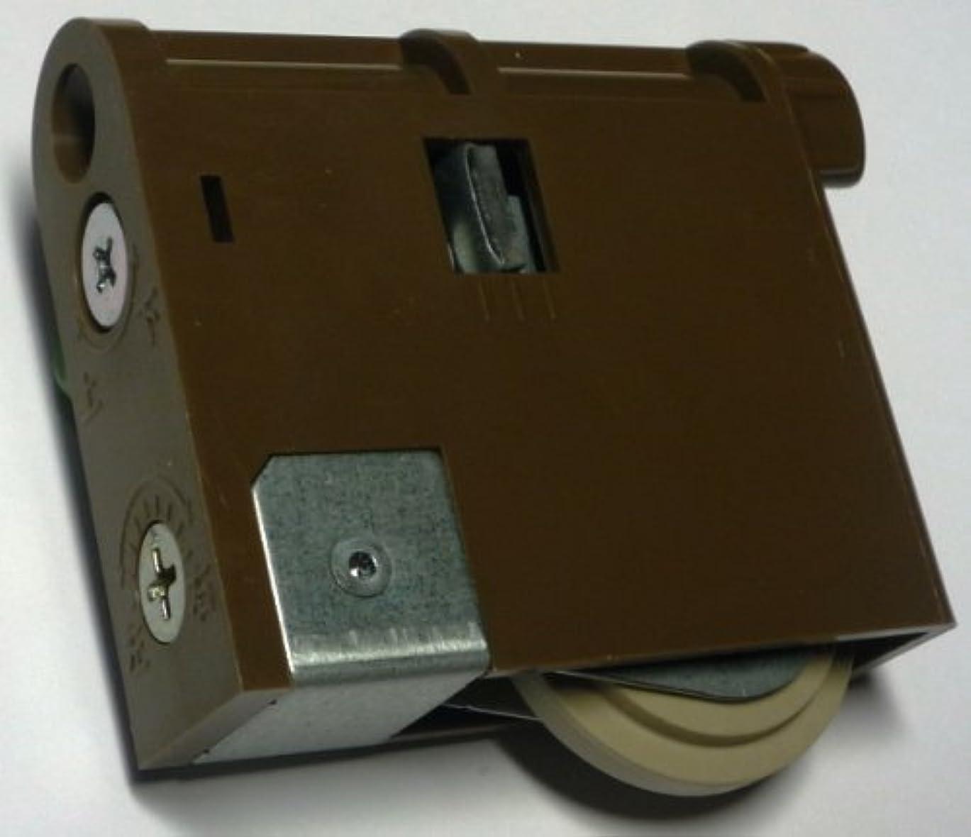 メンタリティ展望台下Panasonic パナソニック 調整機能付きY戸車 内装引戸用 ダークブラウン MJB907NK 2個