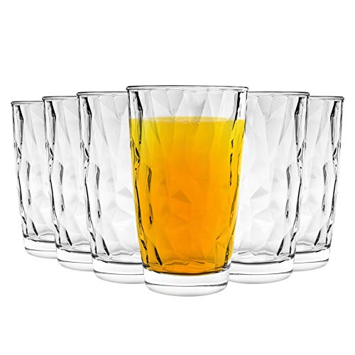 Bormioli Rocco Diamant Highball Verres à Cocktail Set - 470ml - Paquet de 24