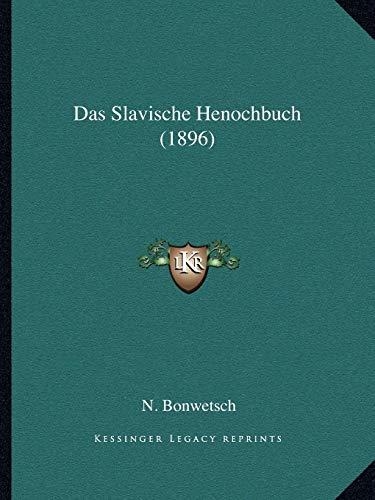 Das Slavische Henochbuch (1896)