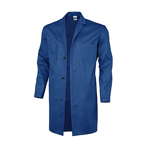 Qualitex Basic Arbeitskittel, 100 % Baumwolle, 240 g/m², Weiß, Größe 44 56 hellblau