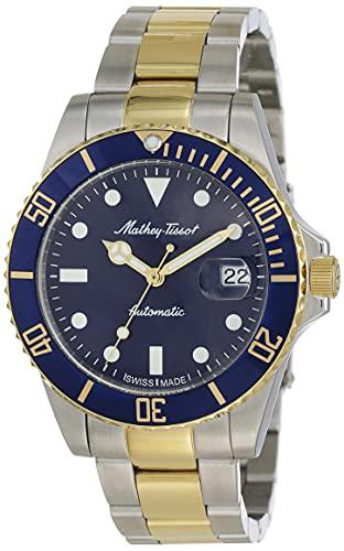 Mathey-Tissot Automatic Blue Dial Men's Watch-H901ATBBU