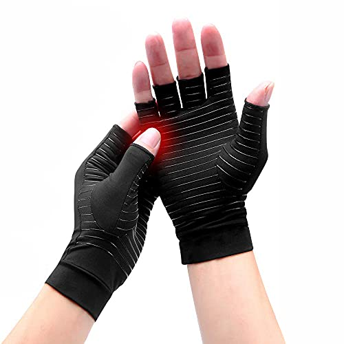 HOTCAKES Copper Compression Gloves Therapy - Copper Infused Arthritis...