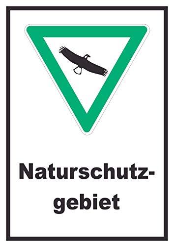 HB-Druck Naturschutzgebiet Schild A4 (210x297mm)
