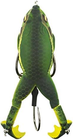 NEW Lunkerhunt Frog /& Fish Topwater Lure Prop Series Combo 3 Pack Bait