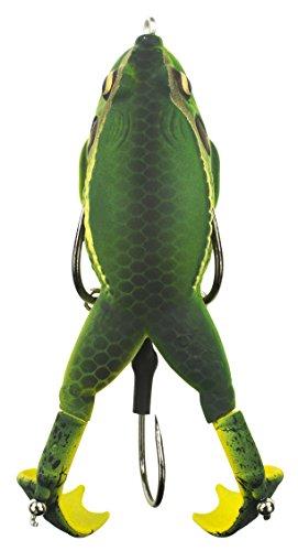 Lunkerhunt Prop Frog – Süßwasser-Angelköder mit realistischem Design, wiegt 1,2 Unzen, Länge 8,9 cm