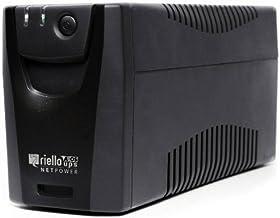 Riello Netpower - Sistema de alimentación ininterrumpida (800 VA, 480 W) Color Negro