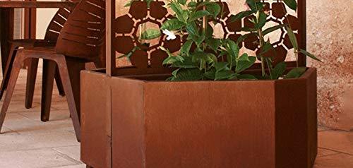 TrackDesign - Jardinera de Acero Corten