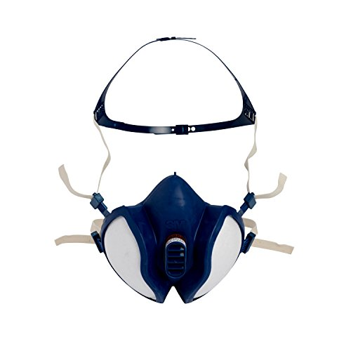3M Atemschutz-Halbmaske Wartungsfrei, FFA1P2R D-Filters, 4251, EN-Sicherheit zertifiziert - 2