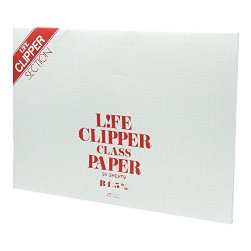 ライフ レポート用紙 クリッパー B4 G1370
