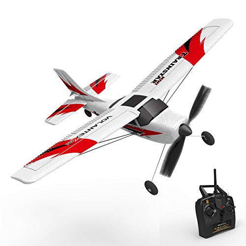 VOLANTEXRC RC Airplane TrainStar Mini 2.4GHz Remote Control Aircraft RTF Ready to Fly with Xpilot Stabilization System Easy to Fly for Beginners (761-1 RTF)