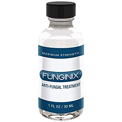 FUNGINIX Finger and Toe Fungus Treatment - Maximum Strength Solution, Eliminate Fungal Infections, Powerful & Effective (1 Fluid Ounce)