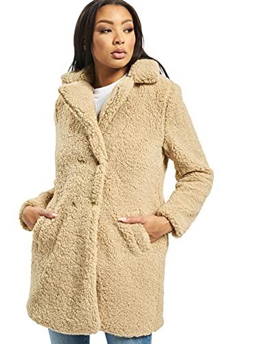 Teddy Coat in Beige