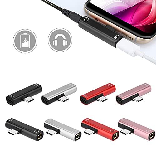Qikafan USB-C Type C to 3.5mm Aux A…