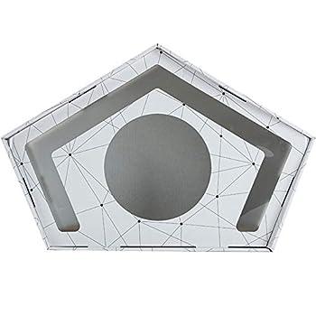 FMMXN Lit pour Animaux De Compagnie, Structure De Compression en ABS, Environnement Semi-Fermé pour Un Sommeil Confortable, Adapté Aux Chats