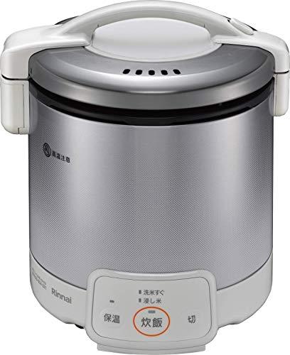 リンナイ ガス炊飯器 「こがまる」 5合 RR-050VQ(W) ホワイト プロパンガス用 RR-050VQ(W)/LP