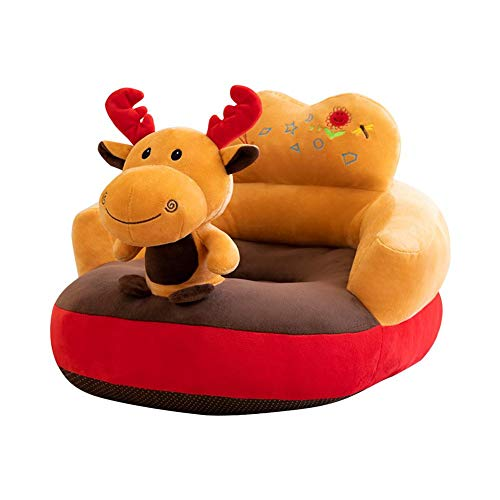 %34 OFF! Prettygood7 Baby Sofa Support Seat, Cartoon Animal Baby Sofa Cover Learning to Sit Chair Se...