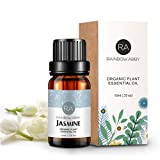 Premium Grade Jasmine oil - Distilled from the flower petals of Jasmine, ensure 100% pure therapeutic grade quality. Physiological Effect - You can dilute jasmine essential oil in base oil, body lotion, facial cream, and do a full-body or facial mass...