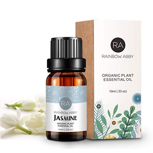 Olio essenziale di aromaterapia puro al 100% di Jasmine per saponi, candele, massaggi, cura della pelle, profumi - 10 ml