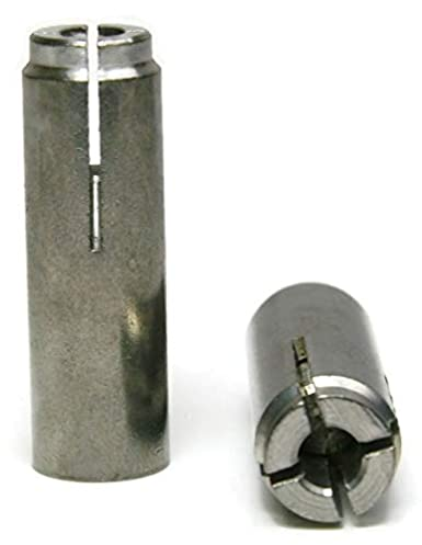 Concrete Drop in Anchors 304 Stainless Steel 1//2-13 x 2 25
