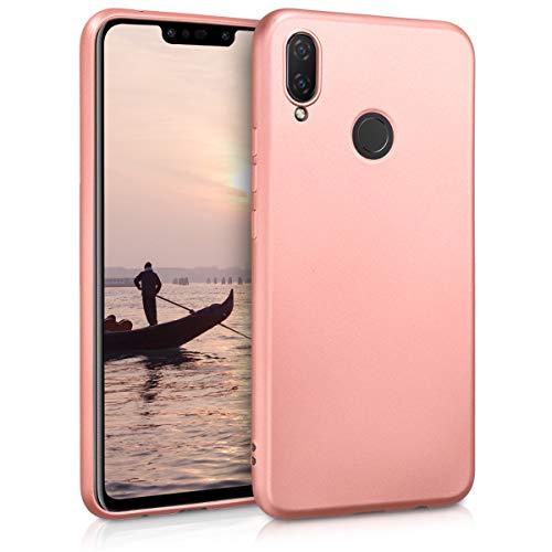 Huawei P Smart+ (2018) / Nova 3i Hülle - Handyhülle für Huawei P Smart+ (2018) / Nova 3i - Handy Case in Metallic Rosegold
