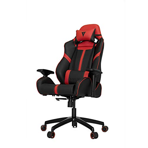 Vertagear VG-SL5000_RD S-Line 5000 Gaming Chair, Large, Black/Red black chair gaming