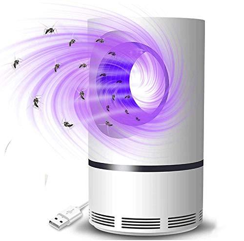 Zootealy Trampa eléctrica para mosquitos con luz UV LED, lámpara para mosquitos,...