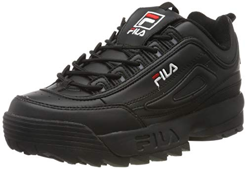Fila Disruptor Low, Sneakers Basses Homme, Noir (Black 1010262 12v), 42 EU