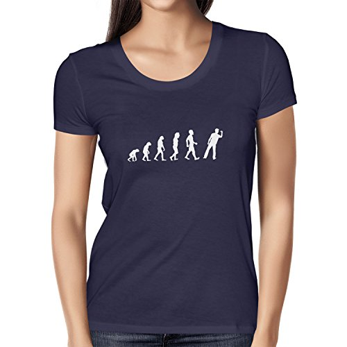 Texlab Dart Evolution - Damen T-Shirt, Größe S, Navy