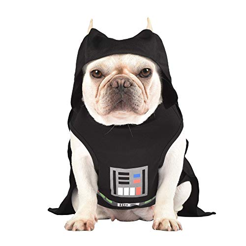 Star Wars Darth Vader Costume for Dogs, Medium (M) | Hooded and Comfortable Black Dog Costume for All Dogs | Dog Halloween Star Wars Dog Costume for Medium Dogs | See Sizing Chart for More Info