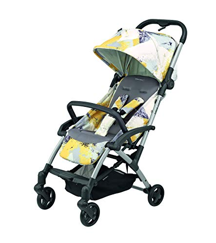 Bébé Confort Laika - Cochecito ligero, compacto, reclinable, plegable con una sola mano, 0 meses - 3,5 años, color amarillo urbano