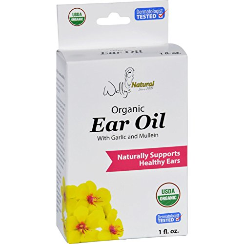 Wallys Natural Products Ear Oil - Organic - 1 fl oz (Pack of 2)