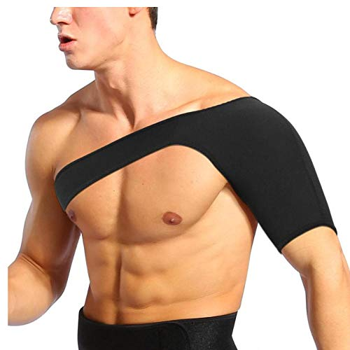 FashionWallA Schulterluxation Arthritis Schmerzlinderung Bandage Schulterstütze Gurtbandage Warmhalten Verletzungen Schmerzen Arm Sport Protector Gürtel Atmungsaktiv