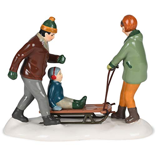 Department 56 Original Snow Village Heading for The Hills Village Figure, 2.3-inch Height