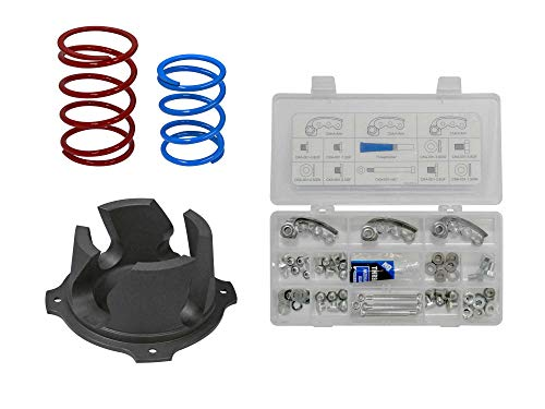 SuperATV Heavy Duty Hill Climbing Clutch Kit for Polaris RZR XP 1000 (2014-2015) - Boost Horsepower, Torque, and Speed!