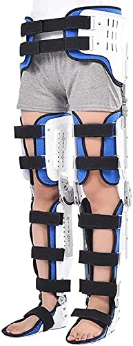 LXNQG Bisagrama de la rodilla de la ROM, la ortesis de los pies de la rodilla, los frenos de la ortesis del pie de la rodilla, caminata de la cadera fijada con botas de caminata Solicitud de l