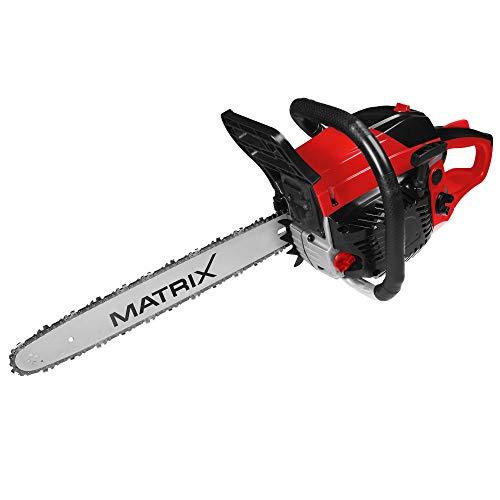 Matrix Kettensäge Benzin MCS46-45-1 1,8 kW mit 45 cm Schwert