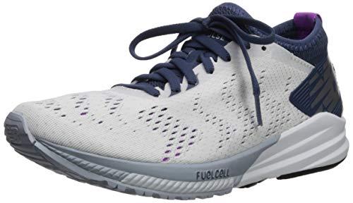 New Balance Fuel Cell Impulse, Zapatillas de Running Mujer, Blanco (White/Voltage Violet/Light Cyclone WP), 36 EU