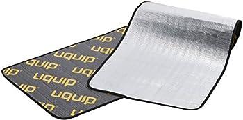 Uquip Tapis en Mousse Isolant Flexy 190 - avec Film Aluminium Protection Contre Le Froid et l'Humidité (190x 55cm)