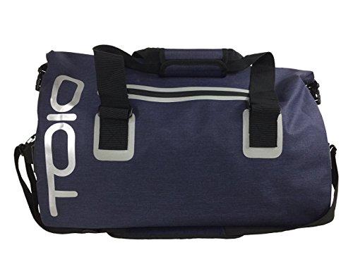 TOIO Mens Waterproof Sloop Bag 40L Universal Navy 55x28x55cm Ultralight 100% 600D Polyester TPU