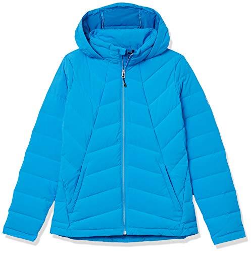 Spyder Damen Syrround Hoody Daunenjacke XL blau (french blue)