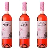 Aldeya Vino Rosado- 3 botellas x 750ml - total: 2250 ml