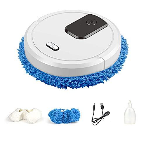 ysgbaba Intelligenter kehrender Roboter, Befeuchtungsspray, automatisches Moppeln, trocken und nass (Color : Red)