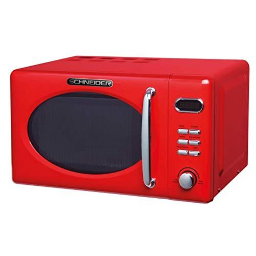 Schneider MW720fr Microondas, color rojo