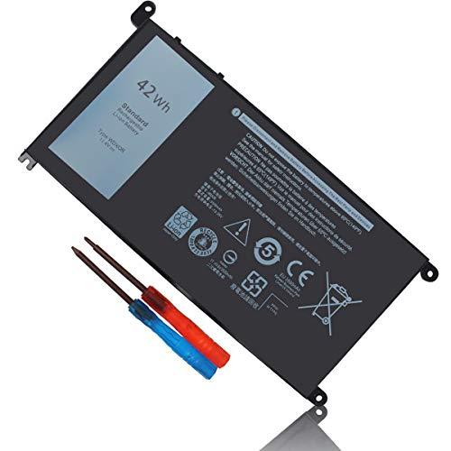 42Wh WDX0R WDXOR Battery for Dell Inspiron 15 5565 5567 5568 5570 5578 7560 7570 7569 7579 13 7368 7378 7375 5368 5378 5379 17 5765 5767 5770 3CRH3 T2JX4 FC92N CYMGM P69G P69G001 P58F P58F001 P75F