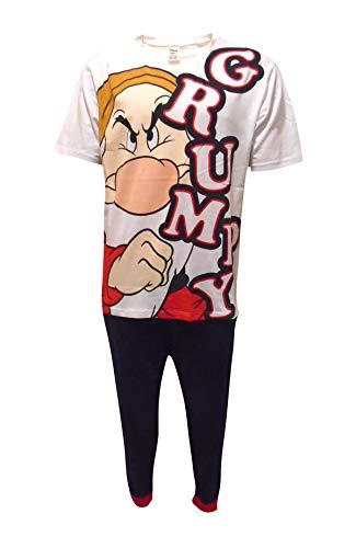 Grumpy Dwarf Frown - Pijama para Hombre Multicolor M