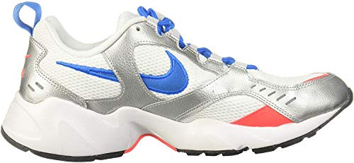 Nike Herren Air Heights Traillaufschuhe, Mehrfarbig (White/Photo Blue/Metallic Silver 102), 44.5 EU